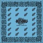 blue kgnu bandana