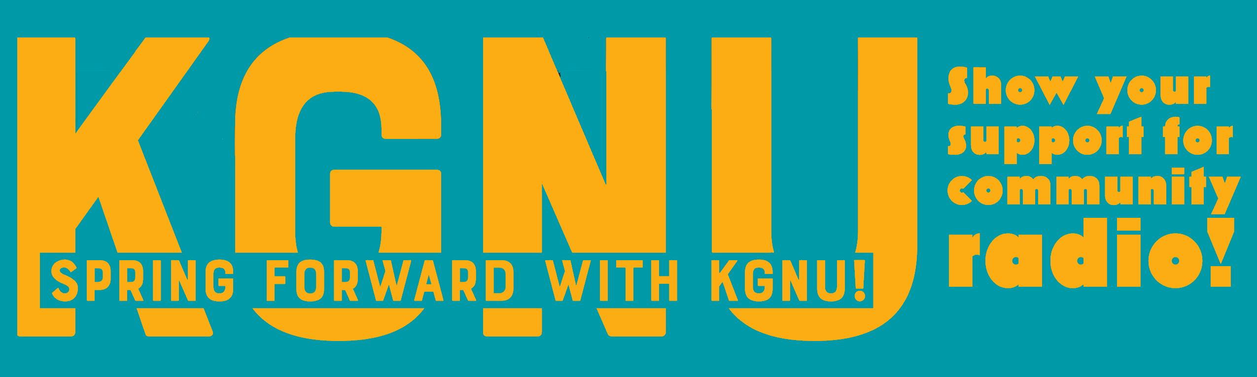 support kgnu